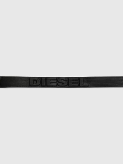 Diesel - B-RING, Schwarz - Gürtel - Image 4