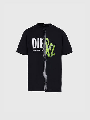 T-JUBBLE-X2, Schwarz - T-Shirts
