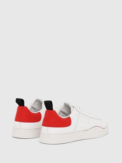 Diesel - S-CLEVER LOW, Weiß/Rot - Sneakers - Image 3