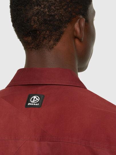 Diesel - S-GUNN-TIE, Rot - Hemden - Image 4