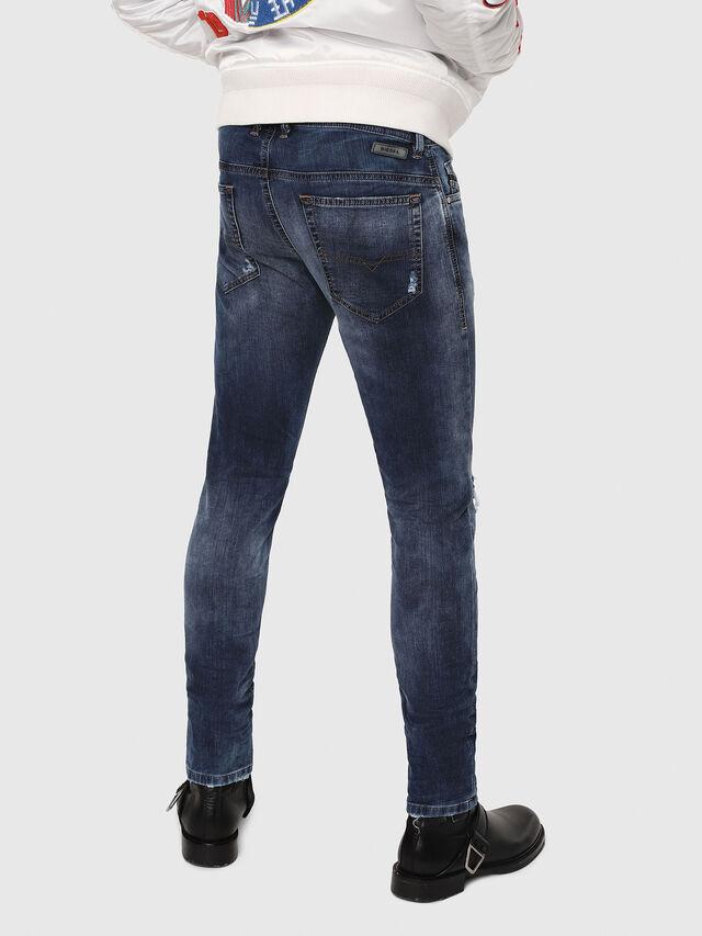 Diesel - Thommer JoggJeans 069AA, Dunkelblau - Jeans - Image 2