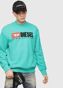 S-CREW-DIVISION, Wassergrün - Sweatshirts
