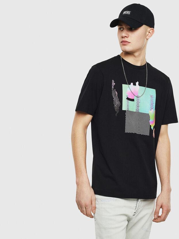 T-JUST-T25, Schwarz - T-Shirts