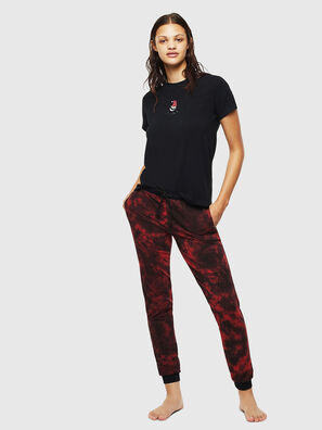 UFSET-SILYBYX, Schwarz/ Rot - Pyjamas
