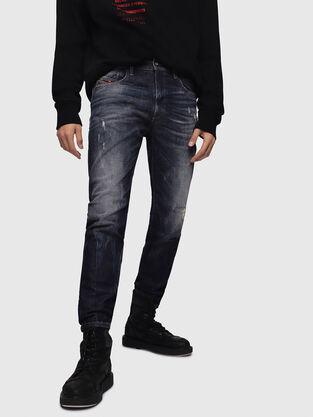 D-Strukt 089AL, Dunkelblau - Jeans