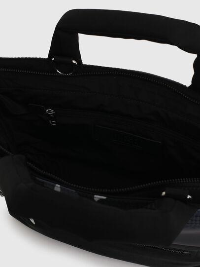 Diesel - GYNEVRA, Schwarz - Satchel Bags und Handtaschen - Image 4