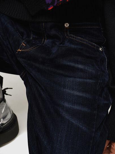 Diesel - Fayza 0091U, Dunkelblau - Jeans - Image 5