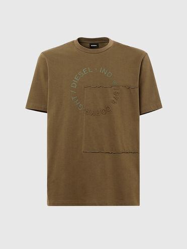 T-Shirt mit Copyright-Logo und Patch