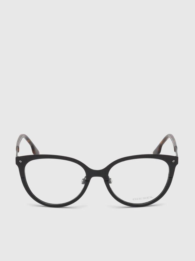 Diesel - DL5217, Schwarz - Korrekturbrille - Image 1