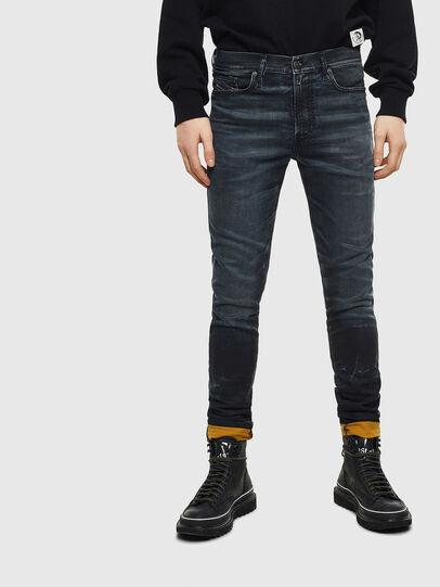 Diesel - D-Reeft JoggJeans 069MD, Dunkelblau - Jeans - Image 1