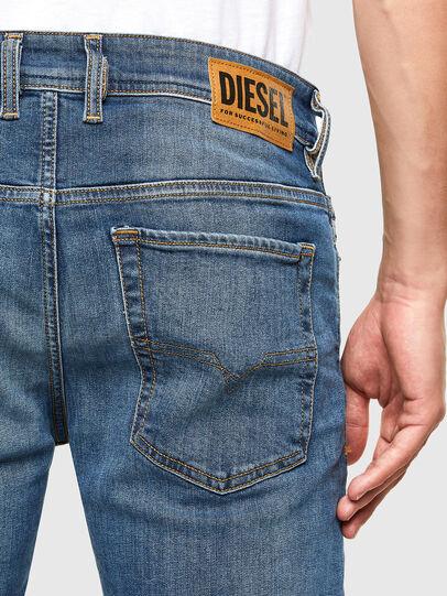 Diesel - Sleenker 069FZ, Mittelblau - Jeans - Image 4