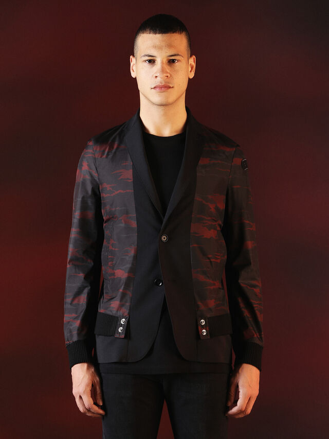DVL-JACKET-SPECIAL COLLECTION, Schwarz