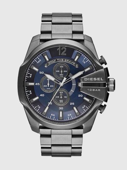 Diesel - DZ4329 MEGA CHIEF, Silber - Uhren - Image 1