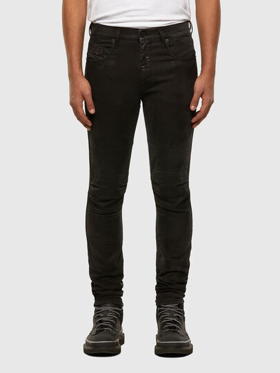 Diesel - D-Strukt JoggJeans® 009GH, Schwarz/Dunkelgrau - Jeans - Image 1