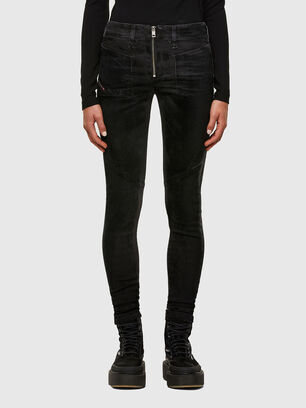 Slandy 069TC, Schwarz/Dunkelgrau - Jeans