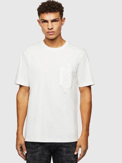 Diesel - T-JUST-POCKET-J1, Weiß - T-Shirts - Image 1
