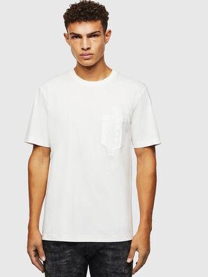 T-JUST-POCKET-J1, Weiß - T-Shirts