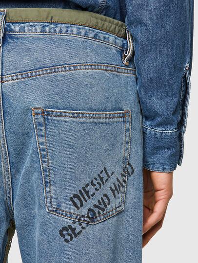 Diesel - DxD-P2 0CBBI, Hellblau - Jeans - Image 4