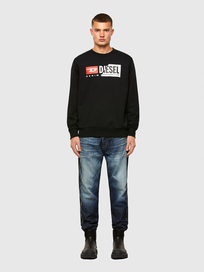 Diesel - S-GIRK-CUTY, Schwarz - Sweatshirts - Image 4