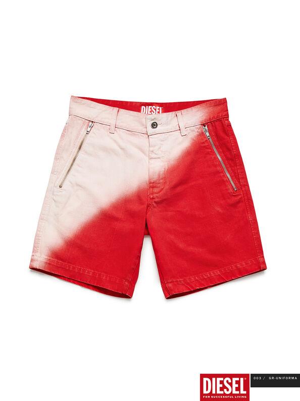 GR02-P303, Rot/Weiß - Kurze Hosen