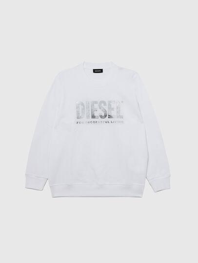 Diesel - SANGWX, Weiß - Sweatshirts - Image 1