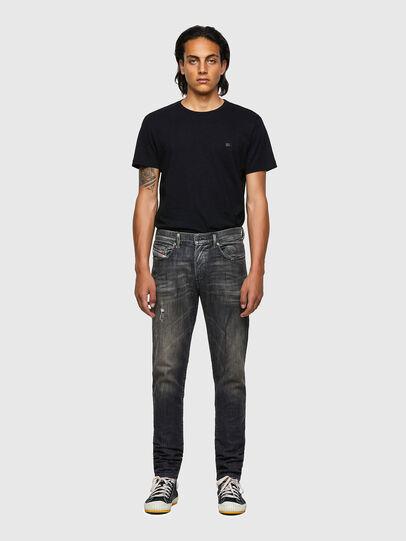 Diesel - D-Strukt JoggJeans® 09B54, Schwarz/Dunkelgrau - Jeans - Image 5
