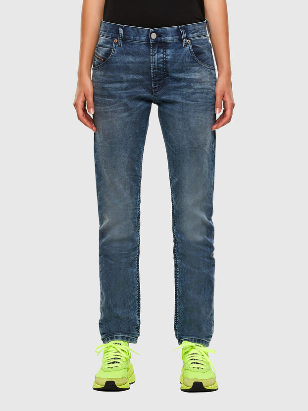 Krailey JoggJeans 069NZ, Mittelblau - Jeans