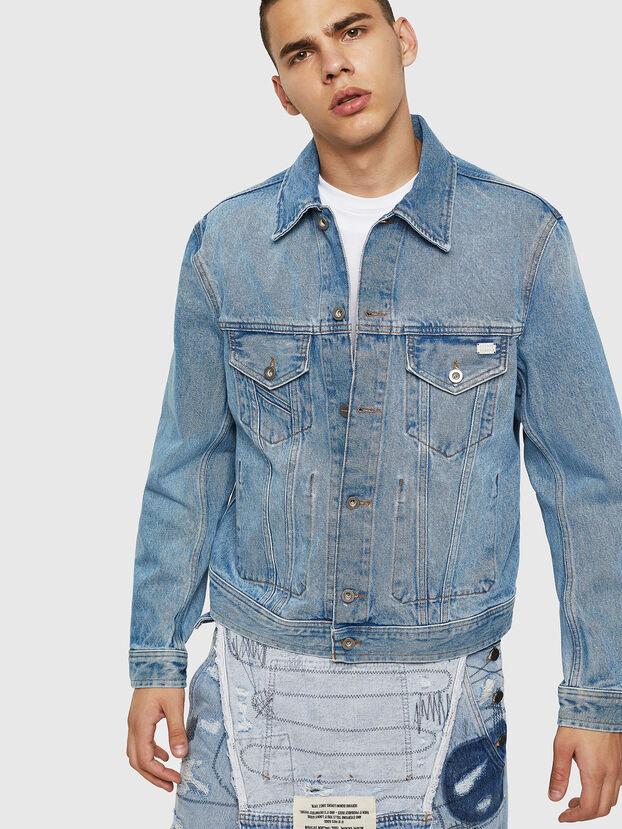 D-BRAY, Jeansblau - Denim jacken