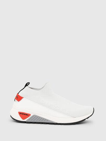 Diesel - S-KB SOCK QB, Weiß/Grau - Sneakers - Image 1