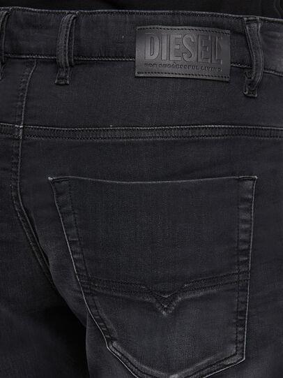 Diesel - KROOLEY JoggJeans® 009KD, Schwarz/Dunkelgrau - Jeans - Image 4