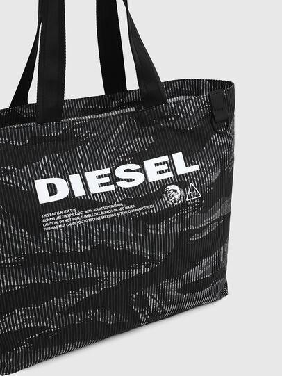 Diesel - D-THISBAG SHOP M, Schwarz - Shopper und Schultertaschen - Image 4