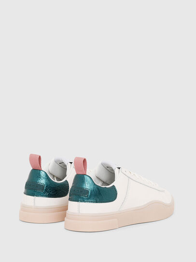 Diesel - S-CLEVER LOW LACE W, Weiß/Grün - Sneakers - Image 3