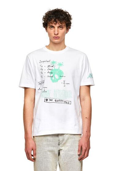 T-Shirt mit Ärmelaufnäher
