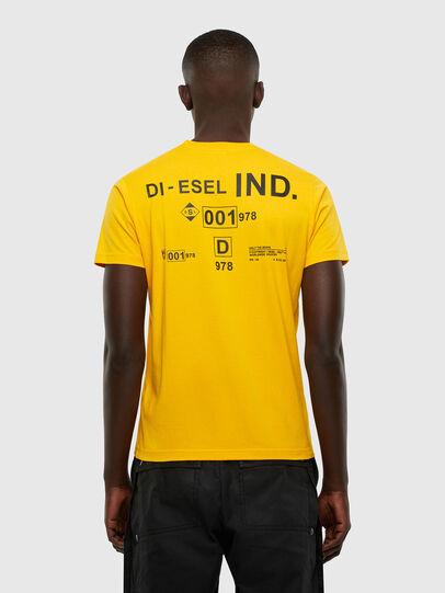 Diesel - T-DIEGOS-N21, Gelb - T-Shirts - Image 2