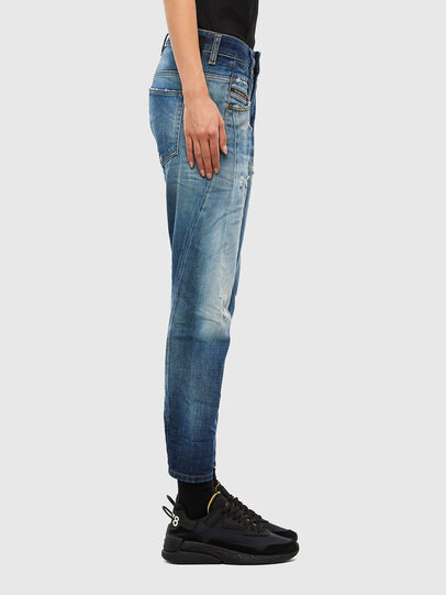 Diesel - Fayza 009LF, Mittelblau - Jeans - Image 3