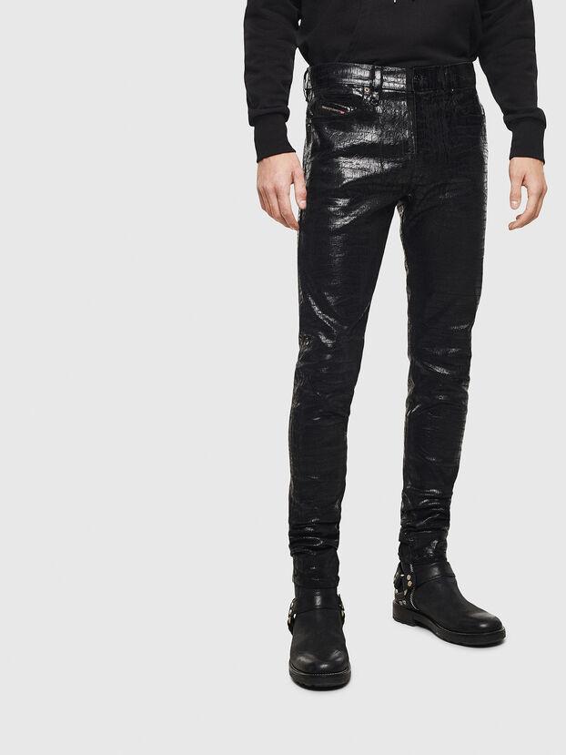 D-Istort 0094S, Schwarz/Dunkelgrau - Jeans