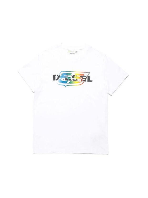 D-55LOGO, Weiß - T-Shirts