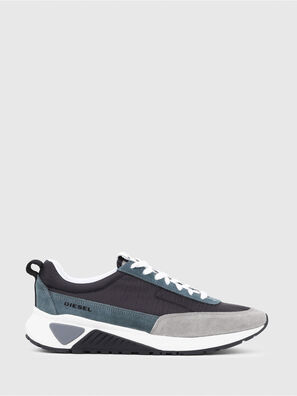 S-KB LOW LACE, Grau/Blau - Sneakers