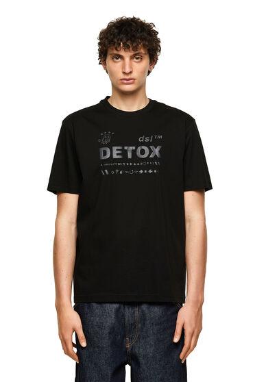 T-Shirt mit Ton in Ton-Schaumprint