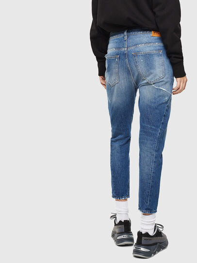 Diesel - Fayza 0097B, Mittelblau - Jeans - Image 2