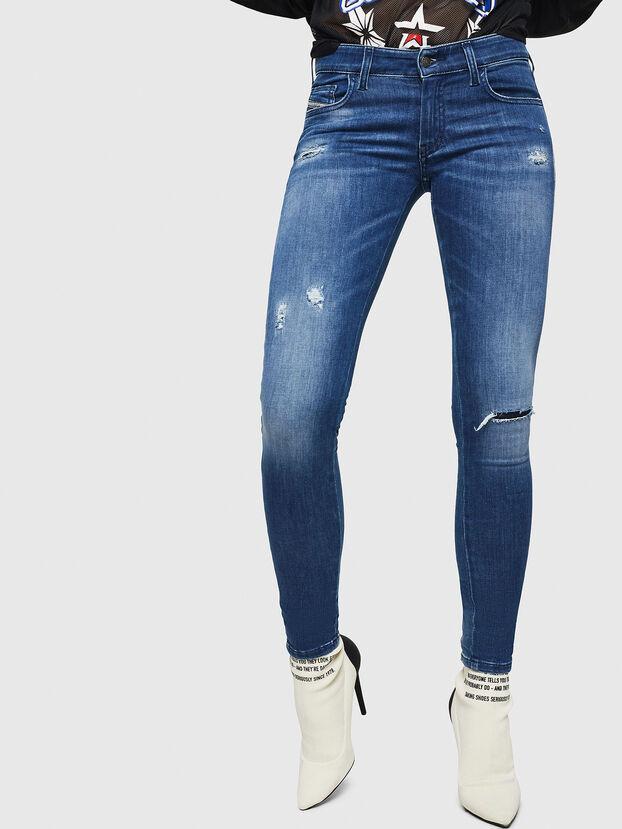 Slandy Low 089AI, Mittelblau - Jeans