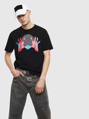 T-JUST-T26, Schwarz - T-Shirts