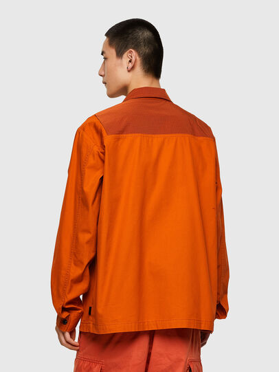 Diesel - S-GUNN-LS, Orange - Hemden - Image 2