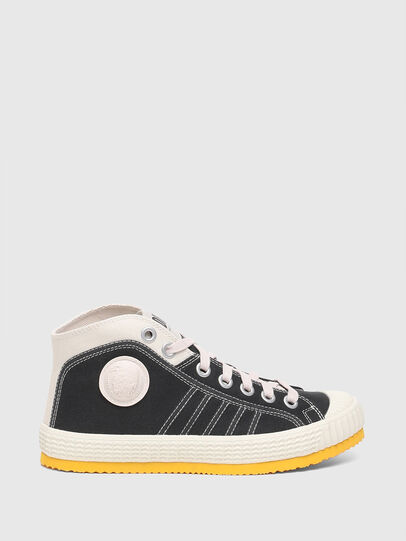 Diesel - S-YUK MC W, Schwarz/Gelb - Sneakers - Image 1