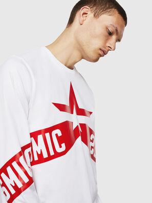 T-JUST-LS-STAR, Weiß - T-Shirts