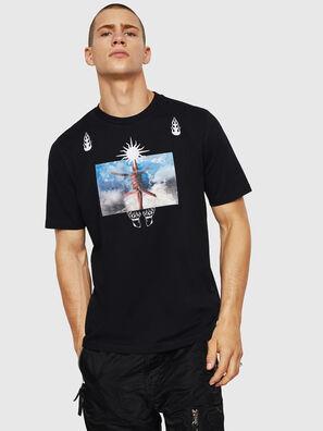 T-JUST-B28, Schwarz - T-Shirts