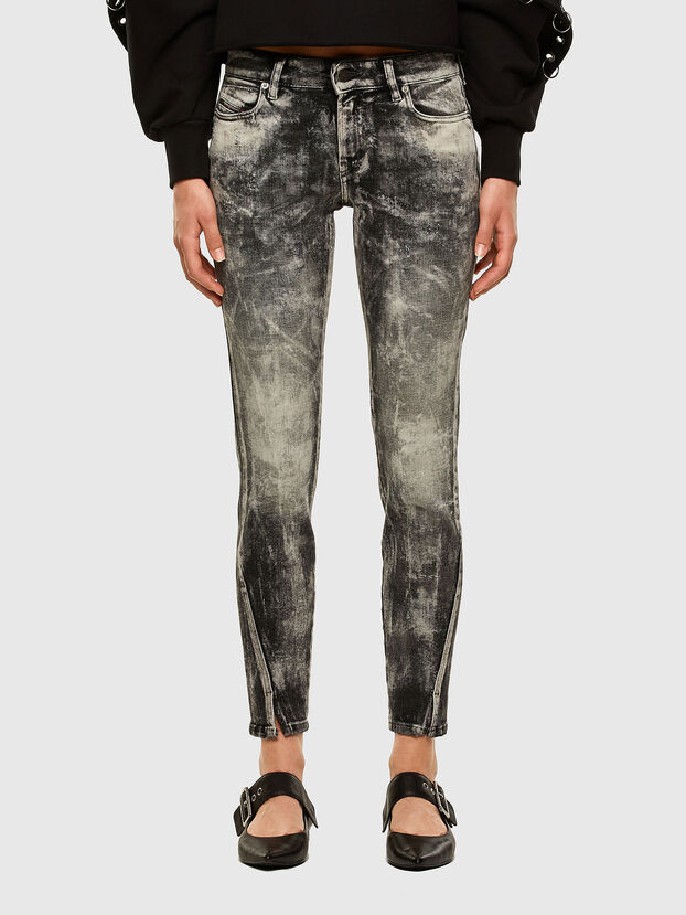D-Jevel 009FG, Hellgrau - Jeans