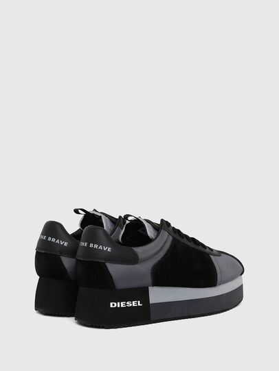 Diesel - S-PYAVE WEDGE, Blau/Schwarz - Sneakers - Image 3