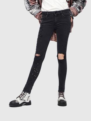 Slandy 085AW, Schwarz/Dunkelgrau - Jeans