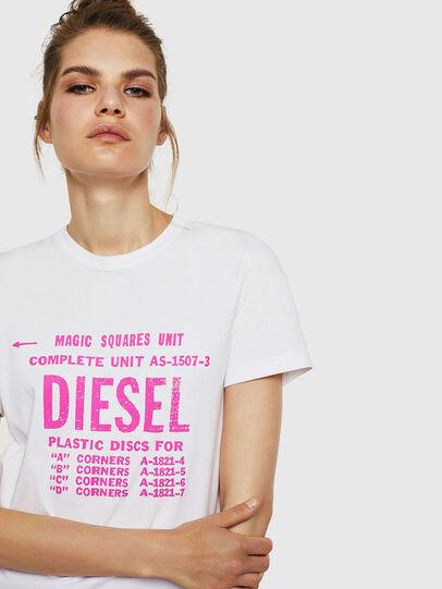 Diesel - T-SILY-ZF, Weiß - T-Shirts - Image 3
